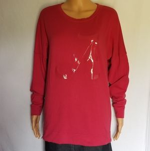 PINK Victoria's Secret Alabama Collegiate Long Tee